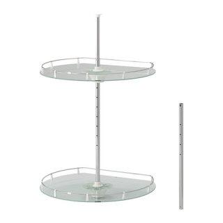 IKEA イケア UTRUSTA ウォールコーナーキャビネット 回転式 a10271166