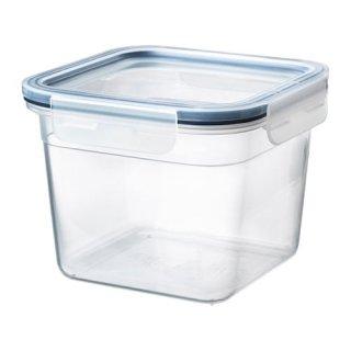 IKEA イケア 保存容器 ふた付き 正方形 プラスチック 1.4L z69269109 IKEA 365+
