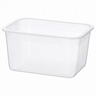 IKEA イケア 保存容器のみ 長方形 プラスチック 2.0L z40359153 IKEA 365+