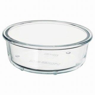 IKEA イケア 保存容器のみ 丸形 ガラス 400ml z80359194 IKEA 365+