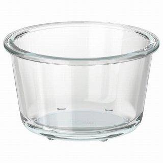 IKEA イケア 保存容器のみ 丸形 ガラス 600ml z10359197 IKEA 365+