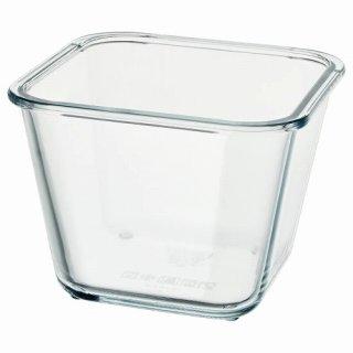 IKEA イケア 保存容器のみ 正方形 ガラス 1.2L z00359211 IKEA 365+