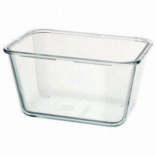 IKEA イケア 保存容器のみ 長方形 ガラス 1.8L z20359205 IKEA 365+