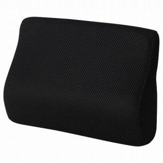 IKEA イケア 腰当てクッション ブラック 31x23cm n10447972 BORTBERG