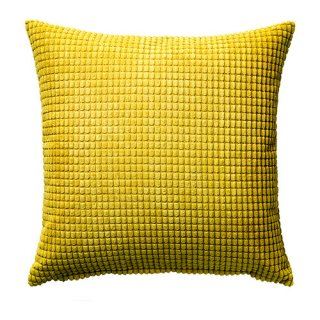 IKEA イケア クッションカバー イエロー 50x50cm 30286464 GULLKLOCKA
