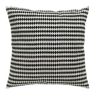 IKEA イケア クッション ブラック ホワイト 50x50cm a20297670 STOCKHOLM