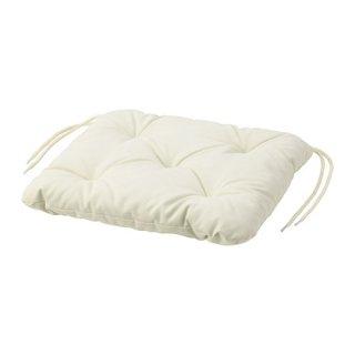 IKEA イケア チェアクッション 屋外用 ベージュ 36x32cm n00411068 KUDDARNA