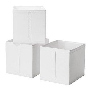 IKEA イケア SKUBB スクッブ ボックス ホワイト 10186390 幅31×奥行き34×高さ33cm