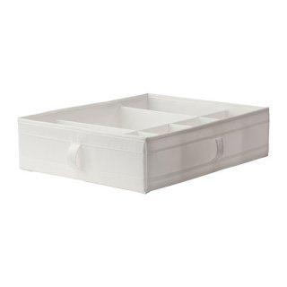 IKEA イケア SKUBB スクッブ ボックス 仕切り付き ホワイト 90185594 幅44×奥行き34×高さ11cm