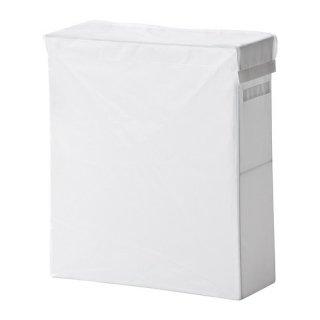 IKEA イケア SKUBB スクッブ ランドリーバッグ スタンド付き ホワイト 10224047 幅22×奥行き55×高さ65cm