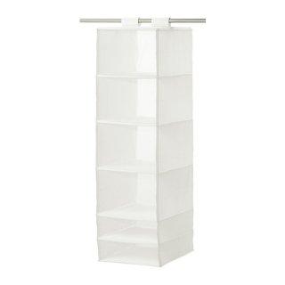IKEA イケア SKUBB スクッブ 収納 6コンパートメント ホワイト 80245881 幅35×奥行き45×高さ125cm