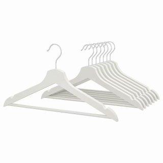 IKEA イケア  ハンガー / 8 ピースホワイト BUMERANG 50238542