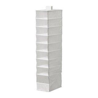 IKEA イケア SKUBB スクッブ収納 9段 ホワイト z70179886 幅22×奥行き34×高さ120cm