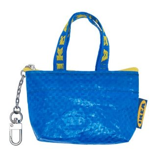 IKEA イケア バッグ キーホルダー n40428774 ミニポーチ KNOLIG
