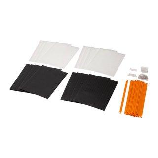 IKEA イケア ハンギングフォルダー 模様入り 16 ピース b00252267 SUMMERA