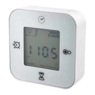 IKEA イケア 時計/温度計/アラーム/タイマー ホワイト d50277005 KLOCKIS クロッキス