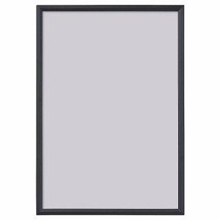 IKEA イケア フレーム ブラック 21x30cm n00429775 YLLEVAD