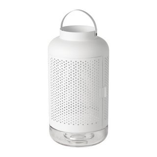 IKEA イケア ADELHET ブロックキャンドル用ランタン n90416047