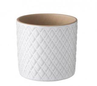 IKEA イケア 鉢カバー 9cm ホワイト  CHIAFRON n10441908