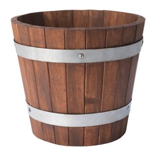 IKEA イケア OGENMELON 植木鉢 アカシア材 z70416388