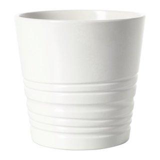 IKEA イケア MUSKOT 鉢カバー 9cm ホワイト d80308208