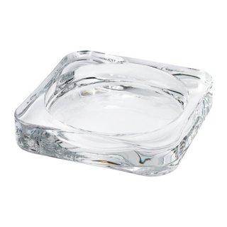 IKEA イケア GLASIG キャンドル皿 クリアガラス d90290137