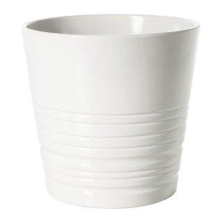 IKEA イケア MUSKOT 鉢カバー 15cm ホワイト E70308204