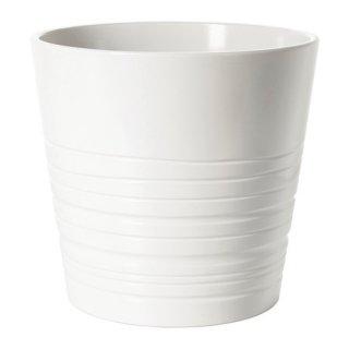 IKEA イケア MUSKOT 鉢カバー 19cm ホワイト E40308205