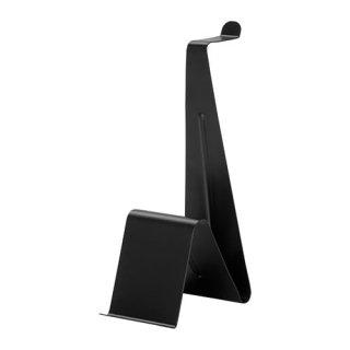 IKEA イケア ヘッドホン/タブレット スタンド ブラック n80434278 MOJLIGHET