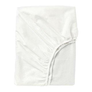 IKEA イケア ボックスシーツ ホワイトダブル 140x200cm z70347724 FARGMARA