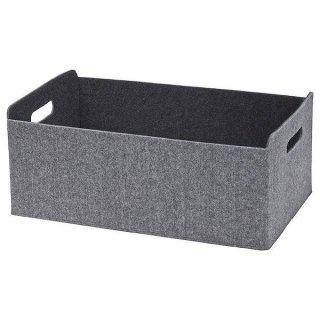 IKEA イケア ボックス 32x51x21 グレー n90307557 BESTA