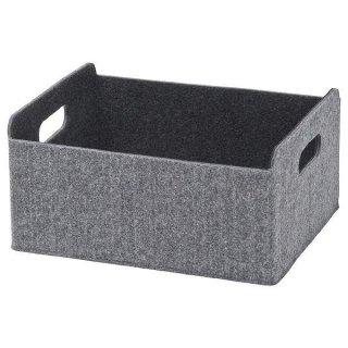 IKEA イケア ボックス 25x31x15 グレー n10307556 BESTA