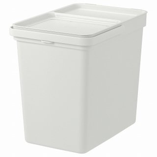 IKEA イケア ゴミ箱 ライトグレー 22 l n70420205 HALLBAR
