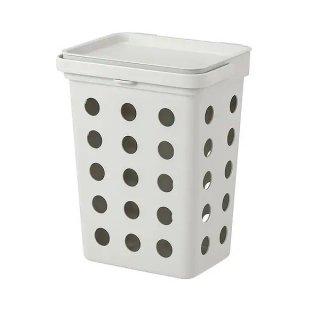 IKEA イケア 生ゴミ用ゴミ箱 ライトグレー 10 l n60433883 HALLBAR