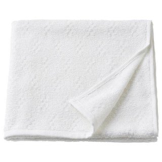 IKEA イケア バスタオル ホワイト 55x120cm n30447358 NARSEN
