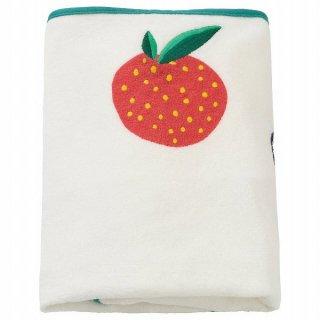 IKEA イケア カバー ベビーケアマット用 果物/野菜 模様 74x48cm n50462606 VADRA