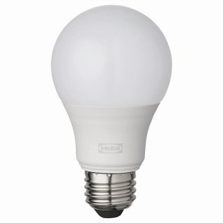 IKEA イケア LED電球 E26 806ルーメン ワイヤレス調光 電球色 温白色 電球色 温白色 球形 オパールホワイト n10410068 TRADFRI