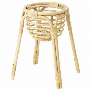 IKEA イケア プラントスタンド 籐 43cm n50455371 BUSKBO
