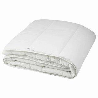 IKEA イケア 掛け布団 やや厚手 合成繊維 ダブル 200x200cm n00457985 SMASPORRE
