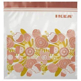IKEA イケア フリーザーバッグ ピンク 2.5L n60482741 KLENAT
