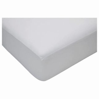 IKEA イケア ボックスシーツ ホワイト セミダブル 120x200cm n10459899 HOSTVADD