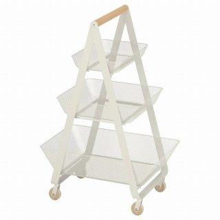 IKEA イケア ワゴン ホワイト 57x39x86cm n10480546 RISATORP