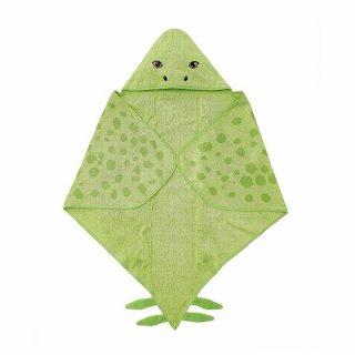 IKEA イケア フード付きバスタオル 恐竜/ステゴサウルス グリーン 140x97cm n70479984 JATTELIK イェッテリク