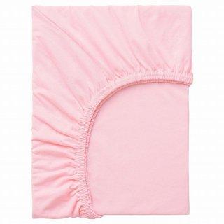 IKEA イケア ボックスシーツ ピンク 80x130cm n10465292 LEN レーン
