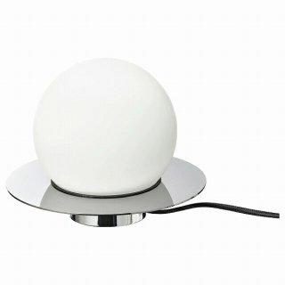 IKEA イケア テーブル ウォールランプ クロムメッキ オパールホワイト ガラス16 cm n40470980 SIMRISHAMN