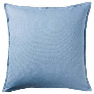 IKEA イケア クッションカバー ライトブルー 50x50cm n10433418 GURLI【カバーのみ】