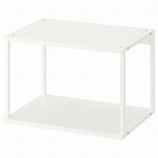 IKEA イケア オープンシェルフユニット ホワイト 60x40x40cm n60452584 PLATSA