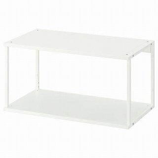 IKEA イケア オープンシェルフユニット ホワイト 80x40x40cm n90452549 PLATSA