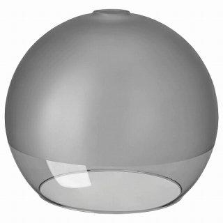 IKEA イケア ペンダントランプシェード フロストガラス グレー 30cm n00494902 JAKOBSBYN