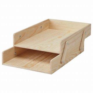 IKEA イケア レタートレイ ナチュラル 合板 n30428821 KLAMMEMACKA